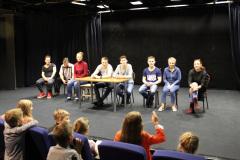 Встреча режиссера и актеров со зрителями